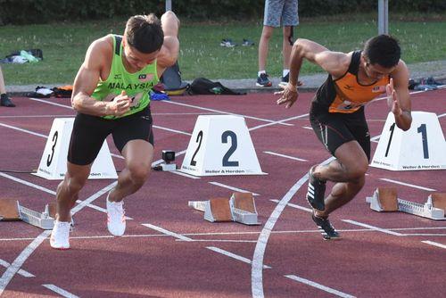 Dreimal zum Stadionrekord beim 20. Abendsportfest der LG Neckar-Enz