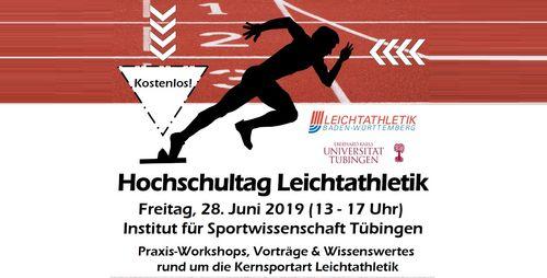 Hochschultag Leichtathletik am 28. Juni in Tübingen bietet hochkarätiges Programm