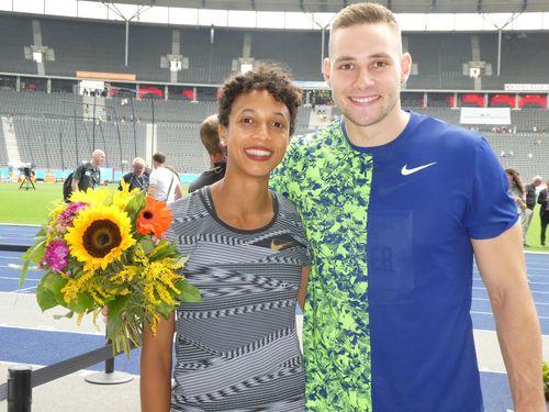 Malaika Mihambo und Johannes Vetter gewinnen beim 78. ISTAF in Berlin - WM Norm für Hanna Klein