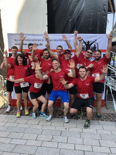 Laufen, spenden und gewinnen beim AOK Firmenlauf Balingen