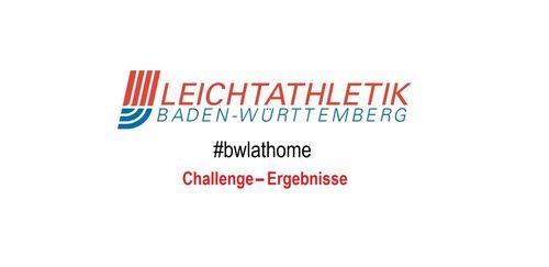 #bwlathome Lauf-Challenge – Ergebnisse