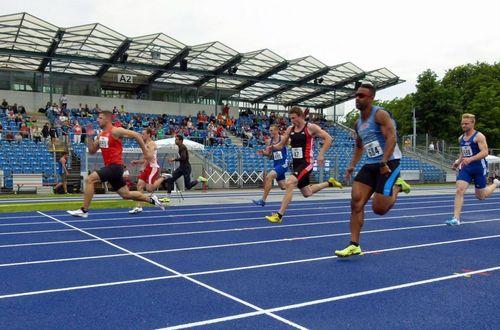 Das Frankenstadion in Heilbronn ist einmal mehr Schauplatz einer hochkarätigen Leichtathletik-Meisterschaft
