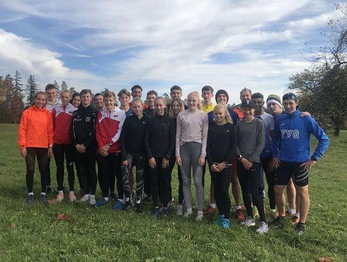 Kaderläufer starten mit Lehrgang in die neue Saison