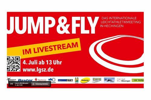 10. JUMP & FLY in Hechingen – Deutsche Jahresbestleistungen für Oleg Zernikel und Stefanie Dauber