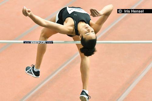 Marie-Laurence Jungfleisch steigt mit 1,90 Meter in die Saison ein
