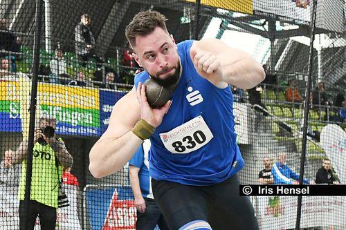 Süddeutsche Hallenmeisterschaften am 8. Februar 2020 in Sindelfingen