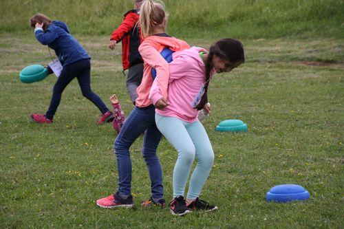 """Der WLV an Ort und Stelle beim Talenttag am """"bewegungszentrumpfulb"""""""