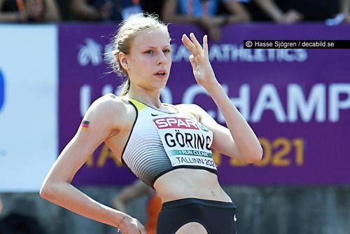U20-Europameisterschaften in Tallinn (EST), 15.-18. Juli 2021