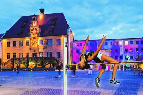 Internationales Hochsprung-Meeting ab 2020 auf dem Heilbronner Marktplatz