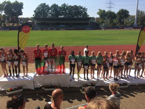 Erfolgreicher zweiter Tag bei der U16-DM in Wattenscheid