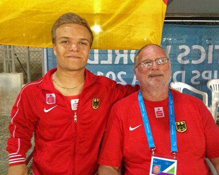 Niko Kappel holt Silber bei Para-WM