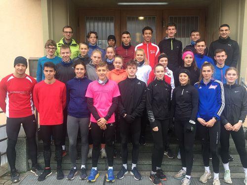 Kaderlehrgang und große Teamsitzung der Läufer in Karlsruhe