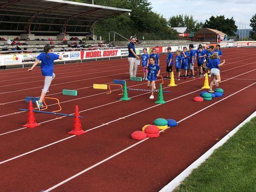 Das große Finale von WLV Kinderleicht-Athletik VOR Ort in Ehingen
