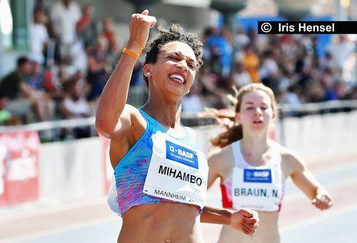 Sensationell: Malaika Mihambo sprintet WM-Norm über 100 Meter