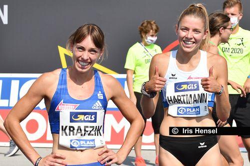 Deutsche Meisterschaften in Braunschweig, 9. August 2020