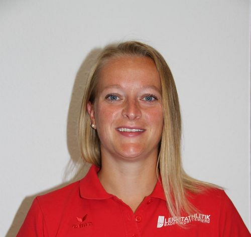 Carolin Streipart unterstützt als OSP-Trainerin hauptamtlich das Wurfteam