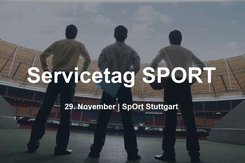 Servicetag SPORT 2018: Vereinsmanagement und Sportentwicklung aktiv angehen