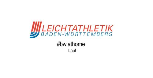 #bwlathome – Lauf