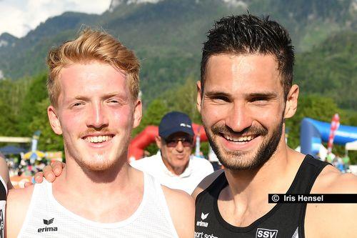 Tim Nowak und Manuel Eitel läuten in Clermont-Ferrand das Olympia-Jahr ein