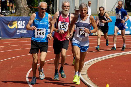 Deutsche Meisterschaften 10.000 Meter am 12. Mai 2018 in Pliezhausen
