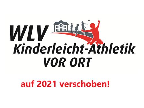 Diesjährige WLV Kinderleicht-Athletik VOR ORT Tour auf 2021 verschoben