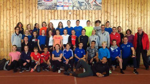 Trainer-Großaufgebot zum Talentkader-Auftakt
