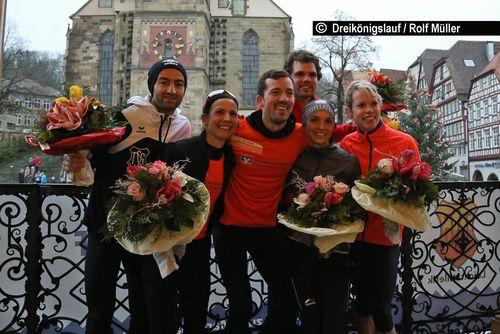 Schwäbisch Haller Dreikönigslauf am 6. Januar 2019