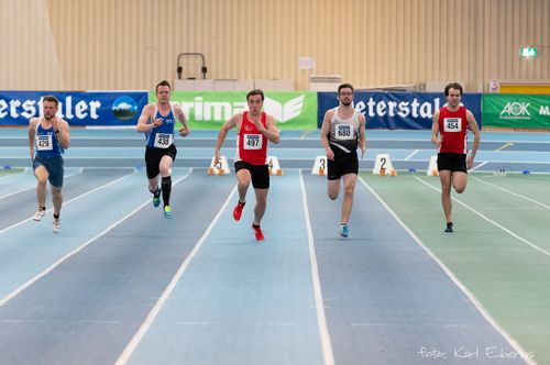 Baden-Württembergische Hallenmeisterschaften den Senioren in Mannheim