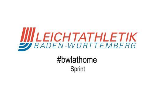 #bwlathome – Sprint