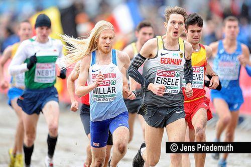 Cross-Europameisterschaften am 9. Dezember 2018 in Tilburg