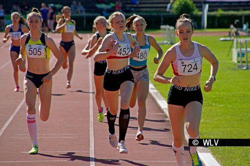 Württ. U16-Meisterschaften am 2. Juni 2019 in Ludwigsburg