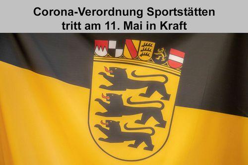 Corona-Verordnung Sportstätten tritt am 11. Mai in Kraft