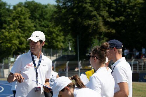 WLV-Jungkampfrichter im Einsatz bei den Deutschen U23 Meisterschaften