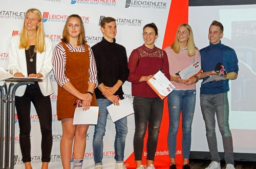 Ehrungsabend Leichtathletik Baden-Württemberg am 1. Dezember 2018 im Kleinkunstkeller in Bietigheim-Bissingen