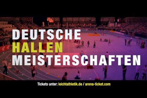Hallen-DM 2020 im ARD-Livestream - Zeitplan unserer Teilnehmer/innen online