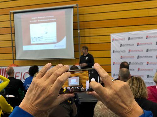 Wissensaustausch beim WLV Kongress Wettkampf & Leistung