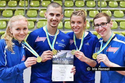 Süddeutsche Hallenmeisterschaften am 9. Februar 2020 in Sindelfingen