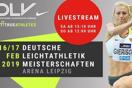Deutsche Hallenmeisterschaften 2019 in Leipzig