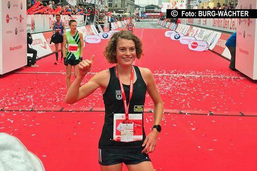 Alina Reh vom SSV Ulm 1846 gehört nun auch über die Halbmarathondistanz zu den schnellsten Läuferinnen Europas