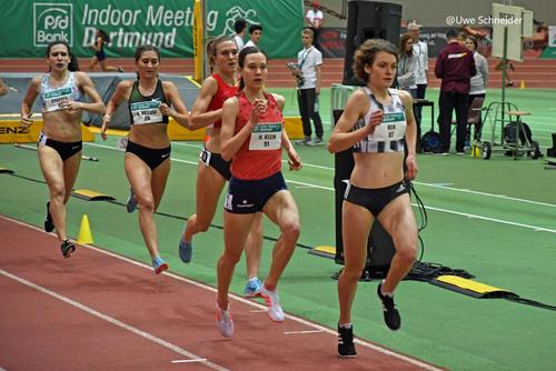 Zehn Wettbewerbe beim Indoor Meeting in Karlsruhe am Samstag (02. Februar)