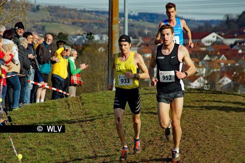 Baden-Württembergische Crosslauf-Meisterschaften am 15. Februar 2020 in Weinstadt