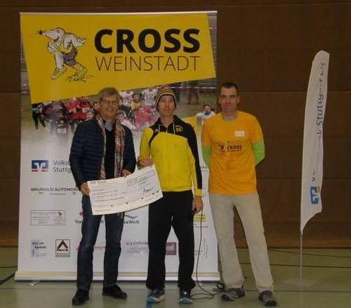 WLV-Innovationsprämie für den Crosslauf der SG Weinstadt